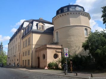 Eingang zur Herzogin-Anna-Amalia-Bibliothek