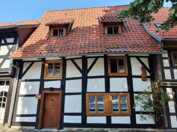 Oldest house in the town of Wernigerode