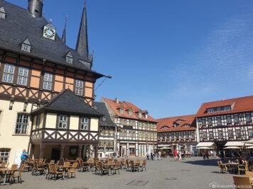 The historic marketplace