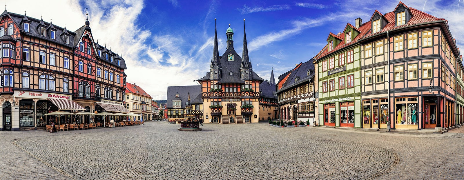 Wernigerode, Market Square, Town Hall, Fountain, Gothic House, Sights, Photo spot, Travelreport