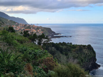 View of the north coast and Seixal