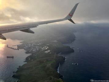 Approach to Madeira