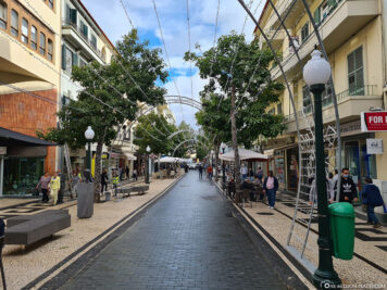 Funchal's shopping street