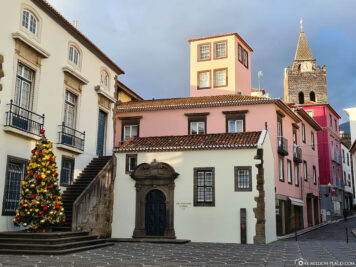 The old town of Funchal