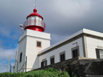 The lighthouse of Ponta do Pargo