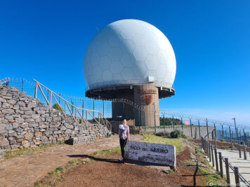 The radar station at 1810 meters