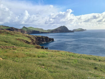 The headland of Ponta de Sao Lourenco