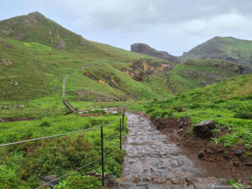 The trail to the eastern tip of Madeira
