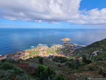View of Porto Moniz