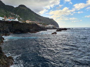 The north-western tip of Madeira