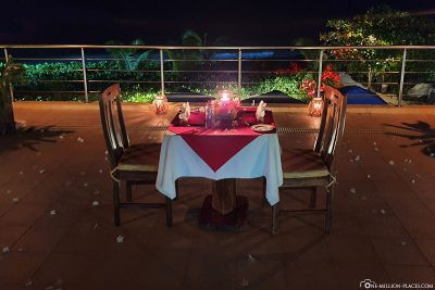 Romantic Dinner im Starfish Restaurant