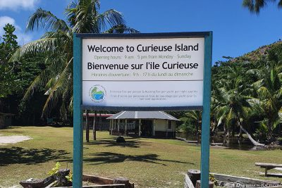 Welcome to Curieuse Island
