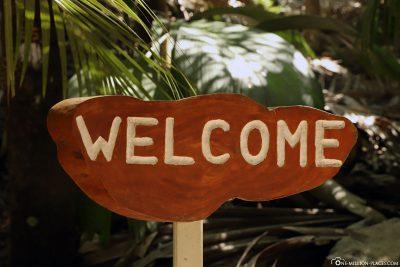 Willkommen im Park