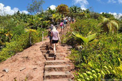 Der Weg zum Aussichtspunkt