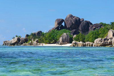 Granite rocks at Anse Source d'Argent