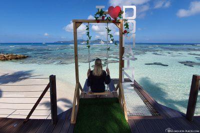 Schaukel am Meer