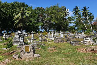 The cemetery of the first settlers