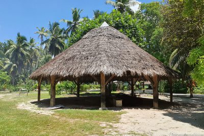 The traditional Kopra mill