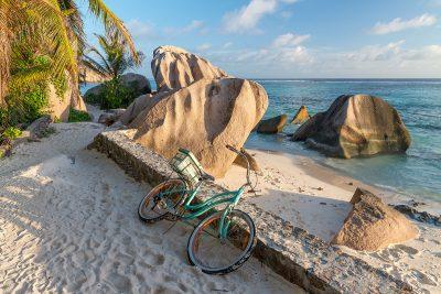 Bicycles on La Digue