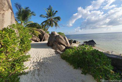 The Anse Source d'Argent