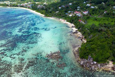 Der Anse Royale auf der Insel Mahé