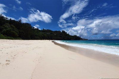 Der Anse Intendance auf der Insel Mahé