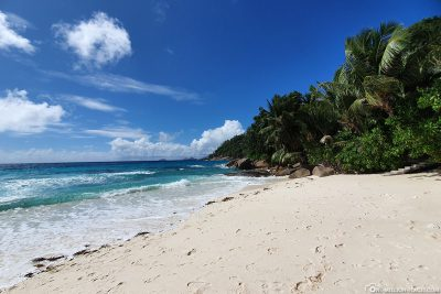 The Petite Anse on the island of Mahé
