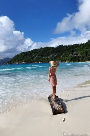 Der Strand des Petite Anse