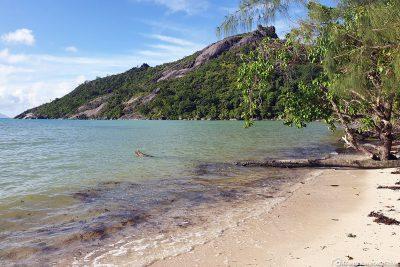 Der Strand des Baie Ternay Beach