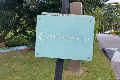 The way to Anse Georgette