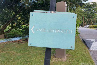 Der Weg zum Anse Georgette