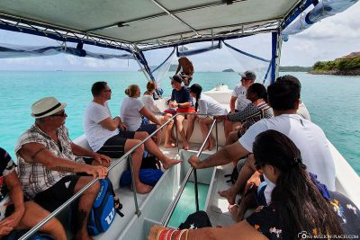 The glass-bottomed boat