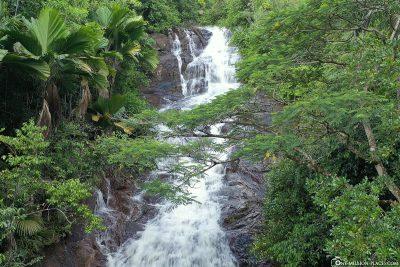 The Sauzier Waterfall