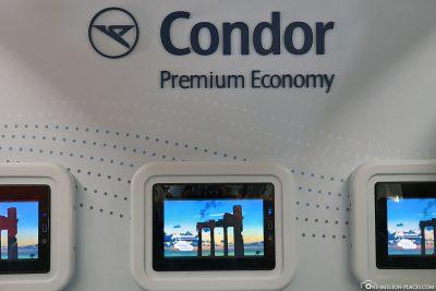 Premium Economy Class at Condor