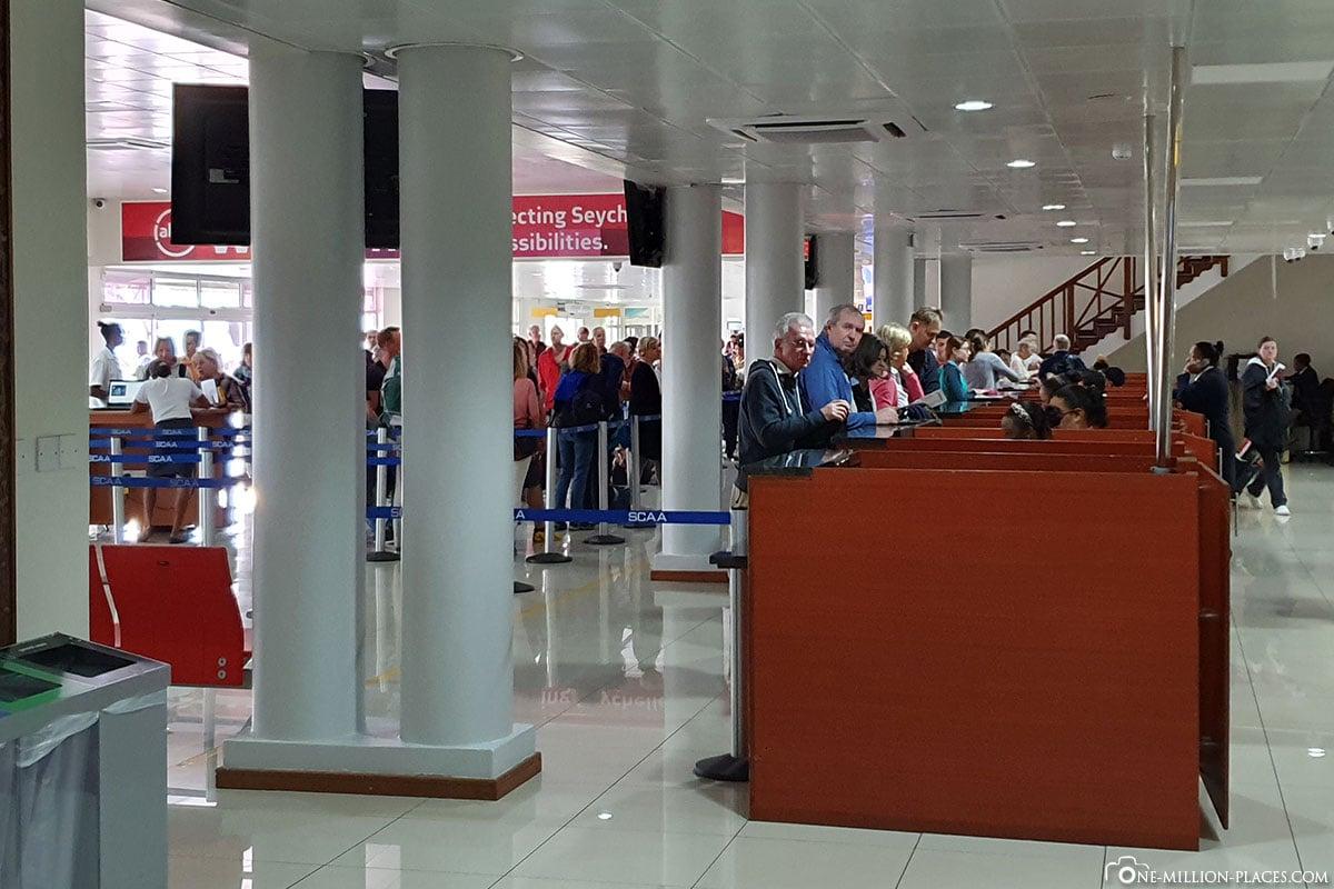 Immigration, Seychelles, Mahé Airport, Experiences, Travelreport