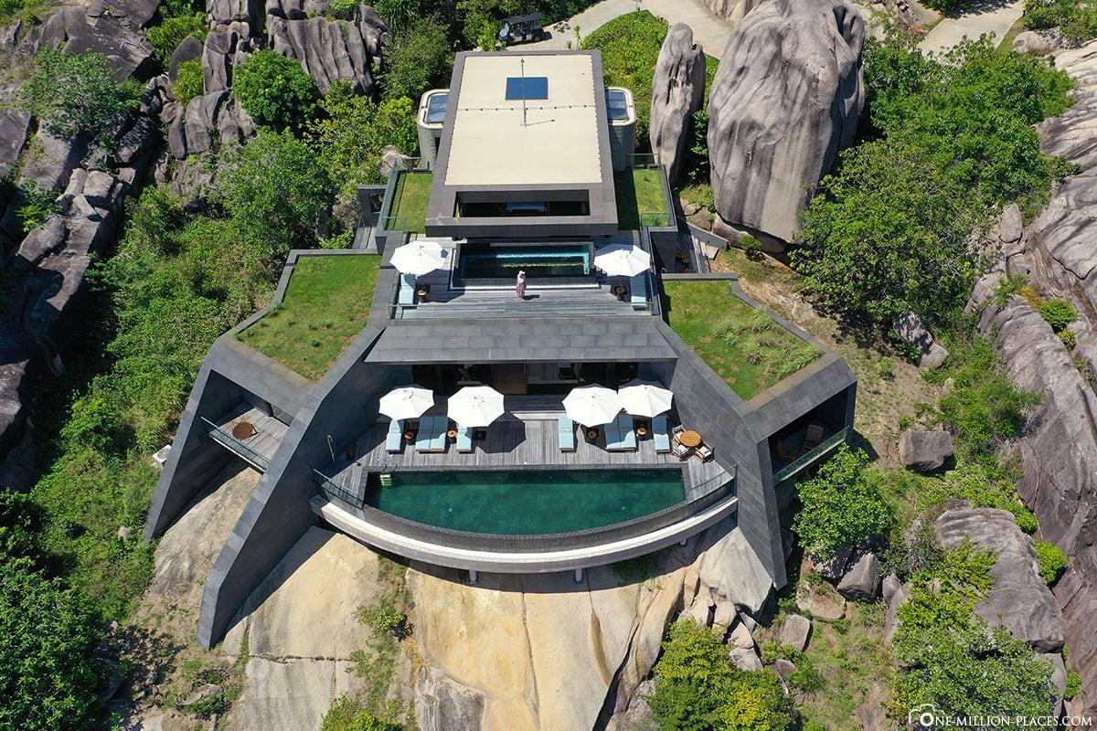 Residence, Six Senses Zil Pasyon, Felicite Island, Seychelles, Travelreport