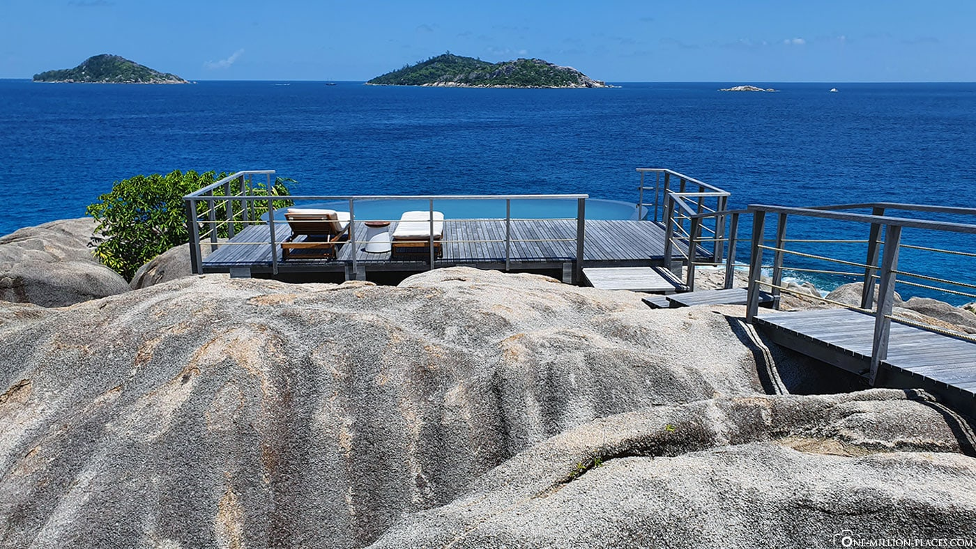 Spa, Pool, Six Senses Zil Pasyon, Felicite Island, Seychelles, TravelReport