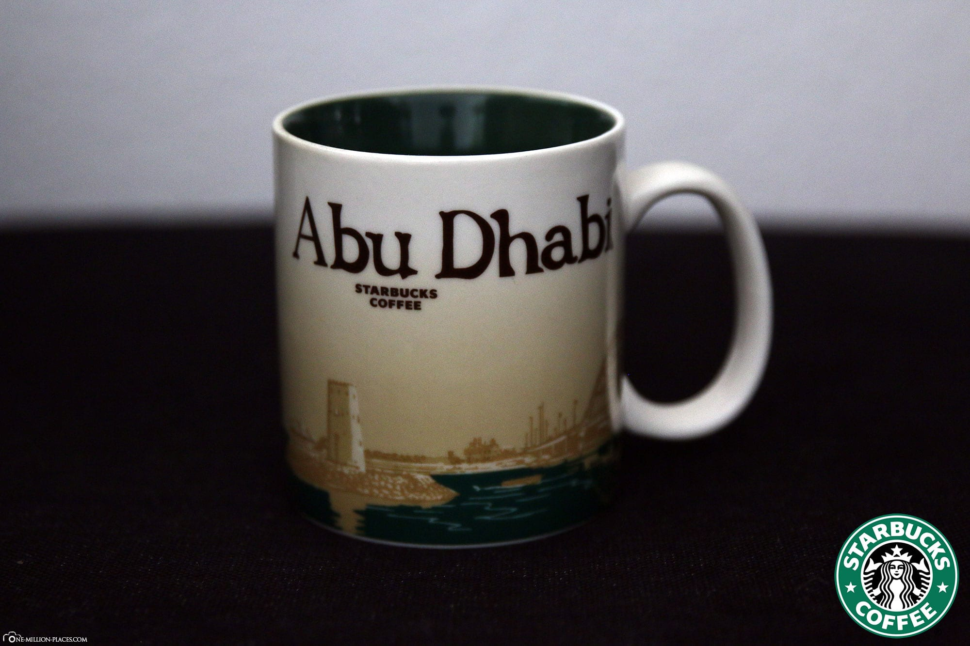 Abu Dhabi, Starbucks Cup, Global Icon Series, City Mugs, Collection, United Arab Emirates, TravelReport