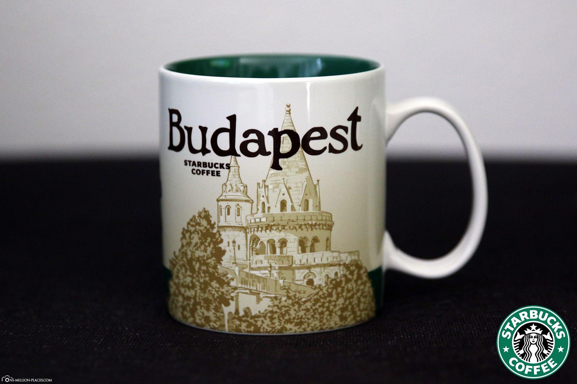 Budapest, Starbucks Tasse, Global Icon Serie, City Mugs, Sammlung, Ungarn, Reisebericht