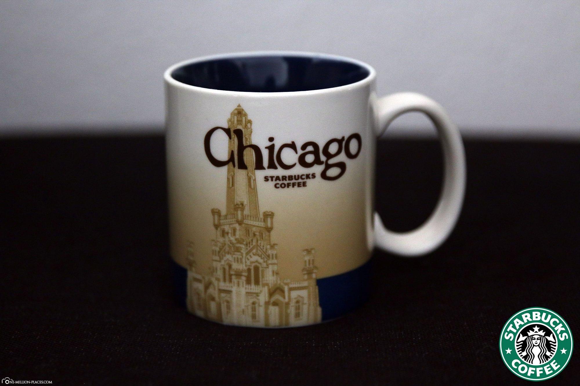 Chicago, Starbucks Tasse, Global Icon Serie, City Mugs, Sammlung, USA, Reisebericht