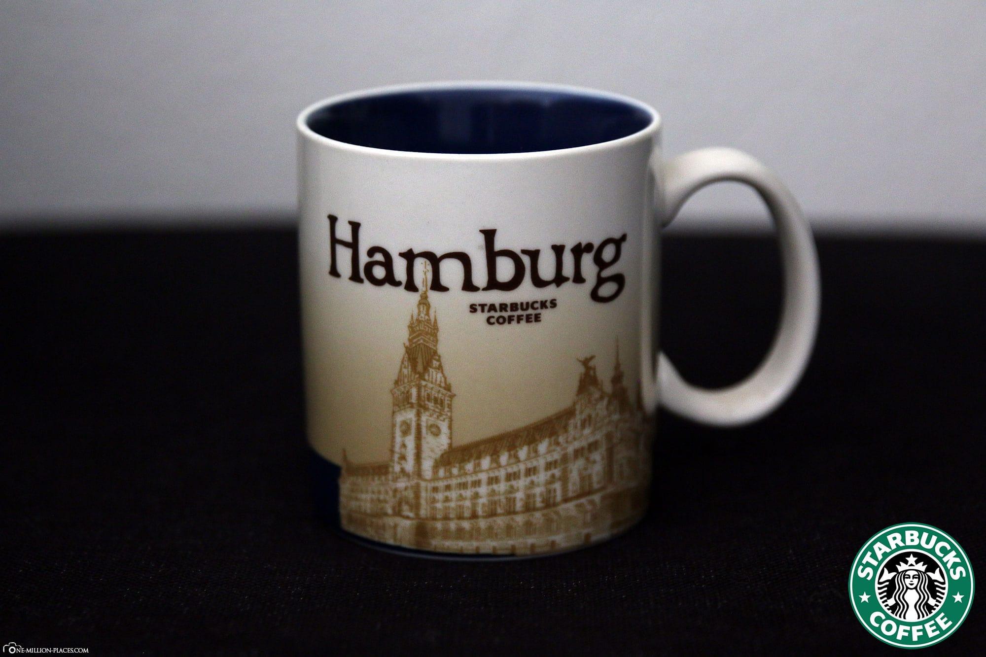 Hamburg, Starbucks Cup, Global Icon Series, City Mugs, Collection, Germany, Travelreport