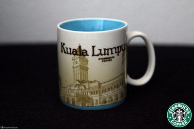 Die Starbucks Städtetasse von Kuala Lumpur