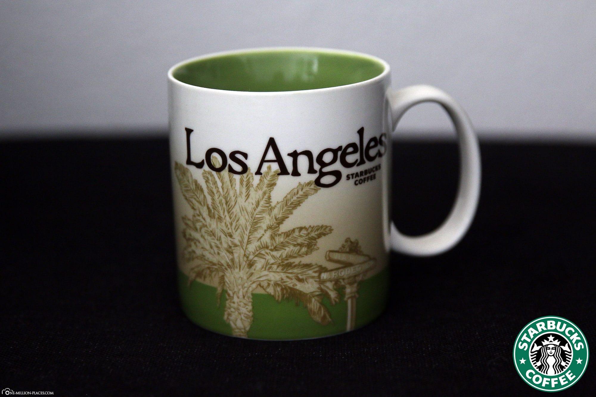 Los Angeles, Starbucks Tasse, Global Icon Serie, City Mugs, Sammlung, USA, Reisebericht
