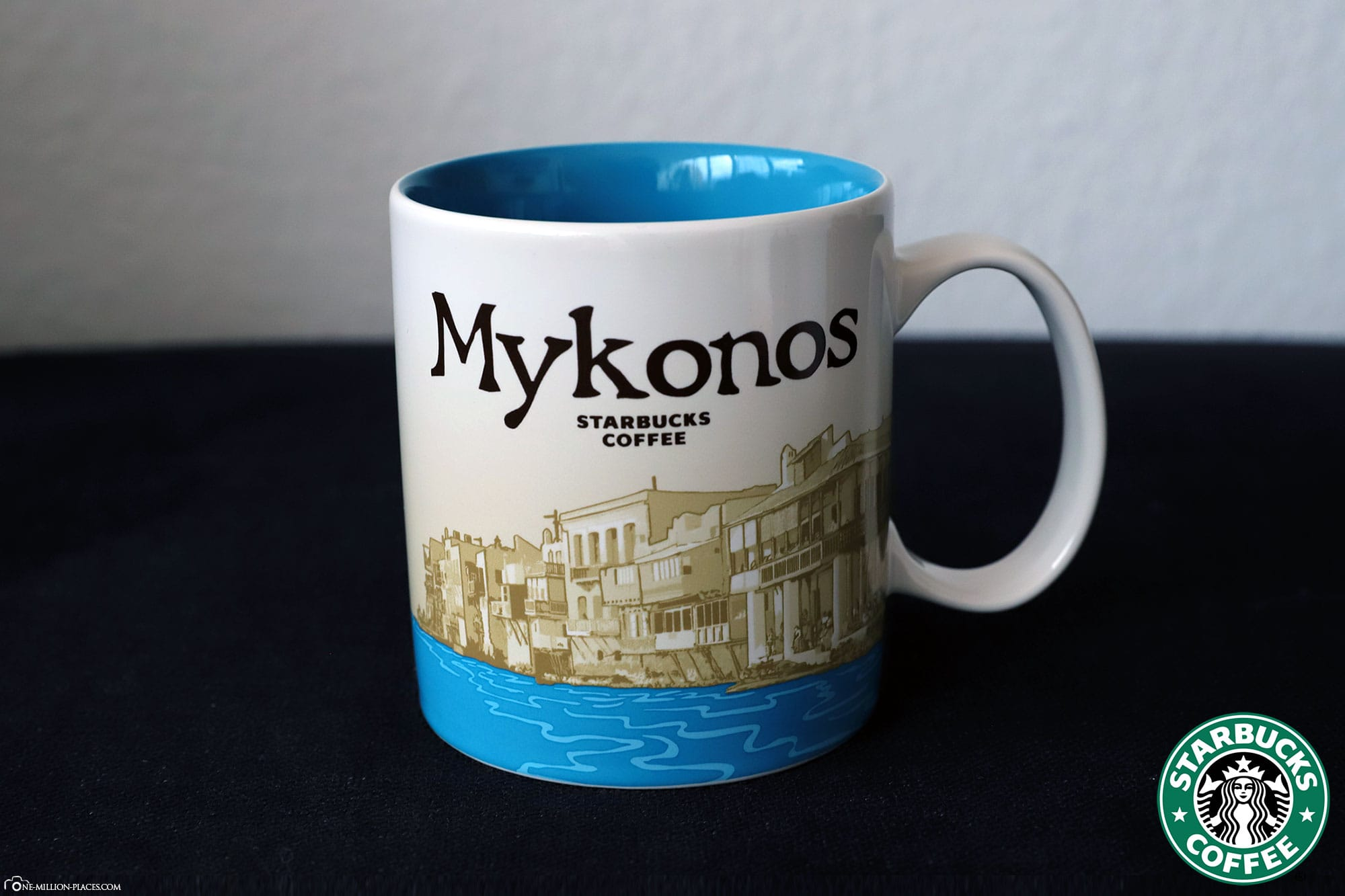 Mykonos, Starbucks Tasse, Global Icon Serie, City Mugs, Sammlung, Griechenland, Reisebericht
