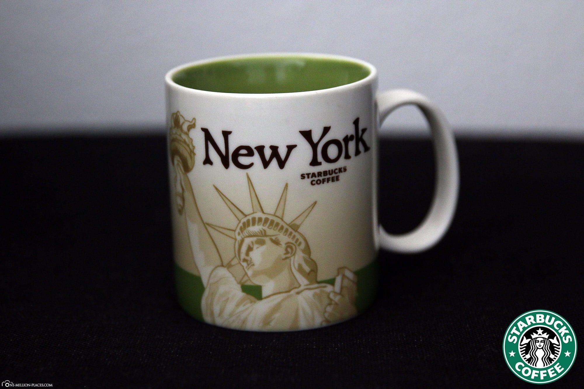 New York, Starbucks Tasse, Global Icon Serie, City Mugs, Sammlung, USA, Reisebericht