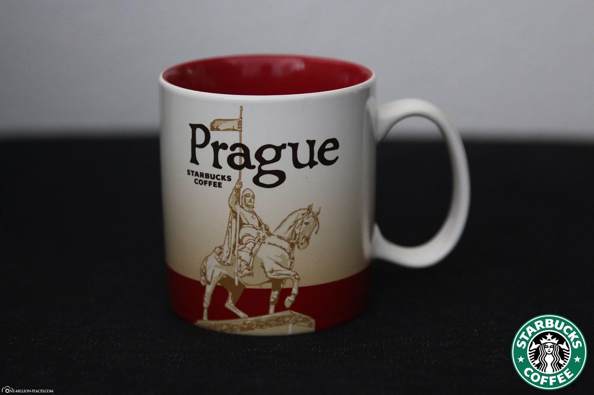 Prague, Starbucks Cup, Global Icon Series, City Mugs, Collection, Czech Republic, Travelreport