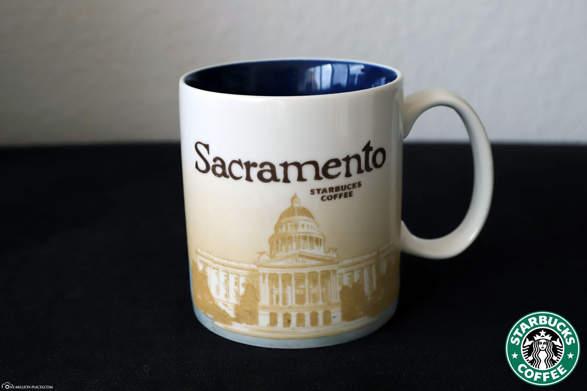 Sacramento, Starbucks Tasse, Global Icon Serie, City Mugs, Sammlung, USA, Reisebericht