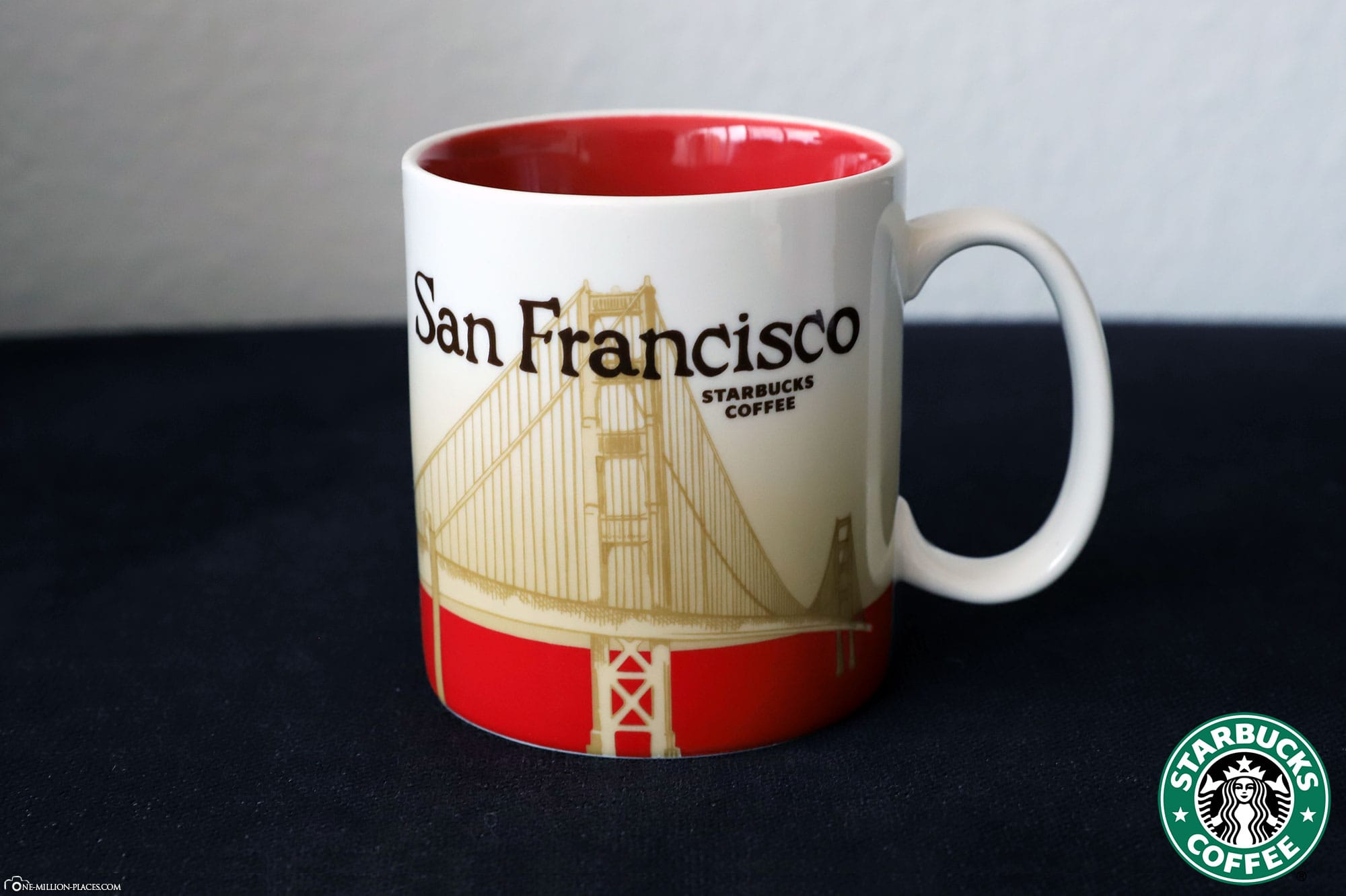 San Francisco, Starbucks Tasse, Global Icon Serie, City Mugs, Sammlung, USA, Reisebericht