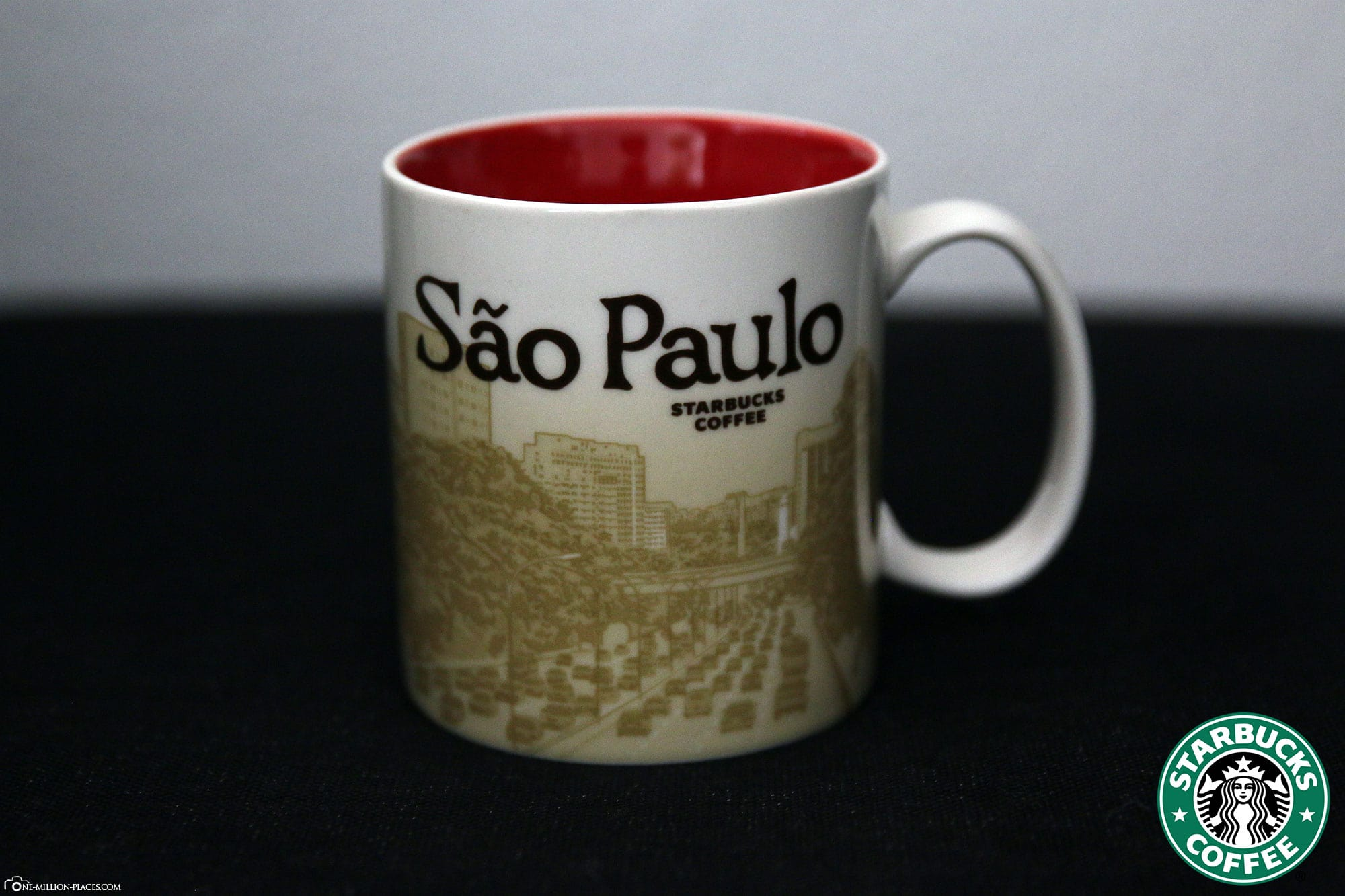 Sao Paulo, Starbucks Cup, Global Icon Series, City Mugs, Collection, Brazil, Travelreport