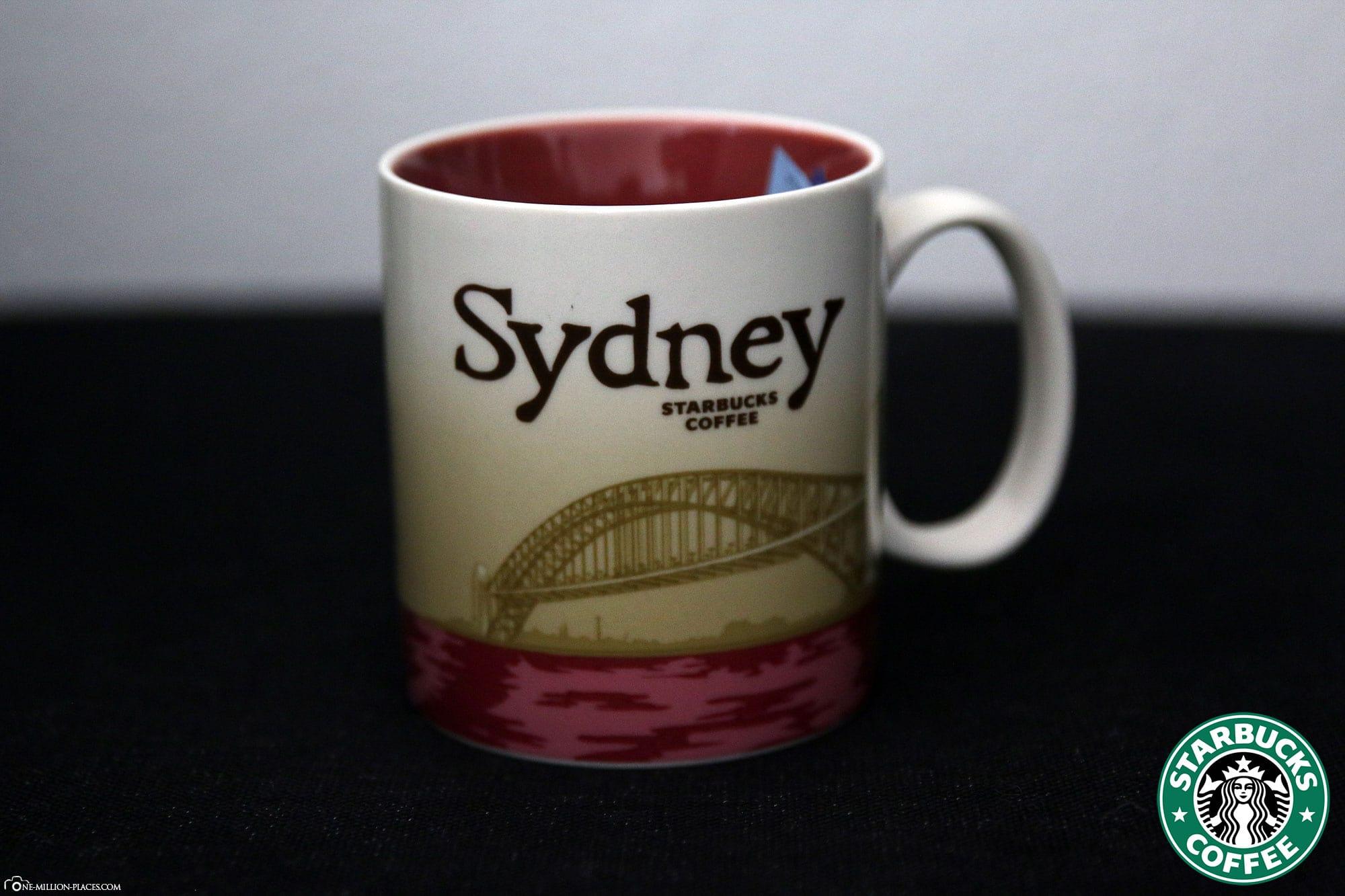 Sydney, Starbucks Tasse, Global Icon Serie, City Mugs, Sammlung, Australien, Reisebericht